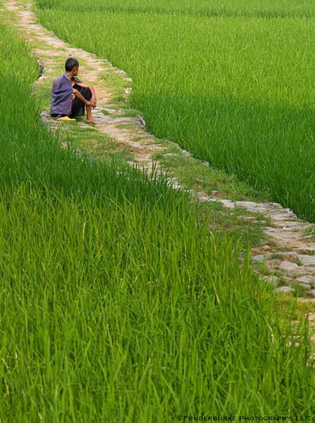 Village path - Yangshuo