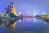 The Bund and Suzhou Creek, Shanghai, China.