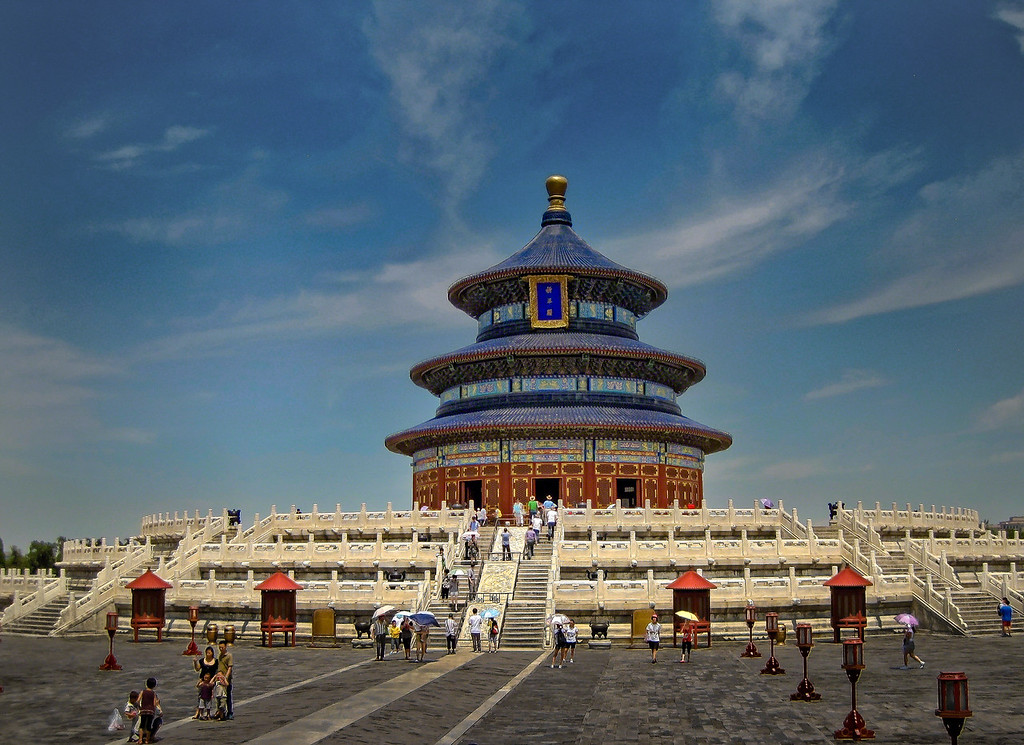 Temple of Heaven in Beijing China with Intentionally Lost and Kevin Wenning #intentionallylost