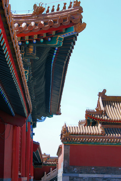 The Forbidden City, Beijing, China.