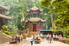 Wannian Temple, Emei Shan, Sichuan, China.