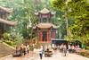 Wannian Temple, Emei Shan, Sichuan, China.