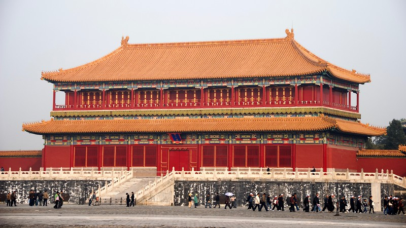 The Forbidden City 紫禁城