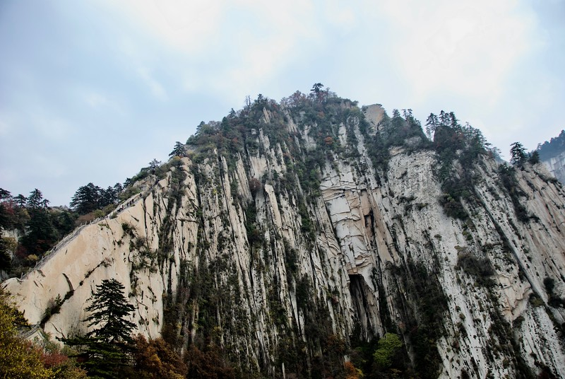 Black Dragon Ridge 苍龙岭, Huashan