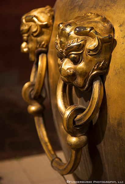 Gilded Urn - Forbidden City