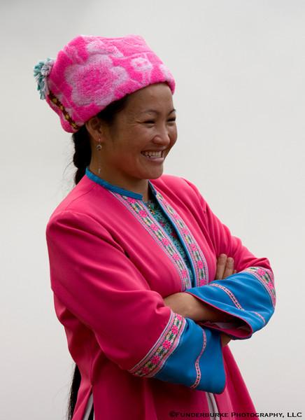 Zhuang Woman - Ping An