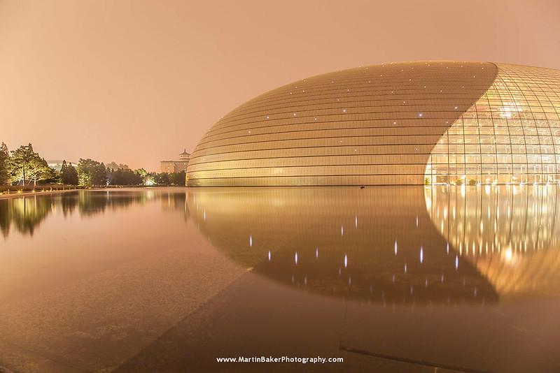 National Grand Theatre of China, Beijing, China.