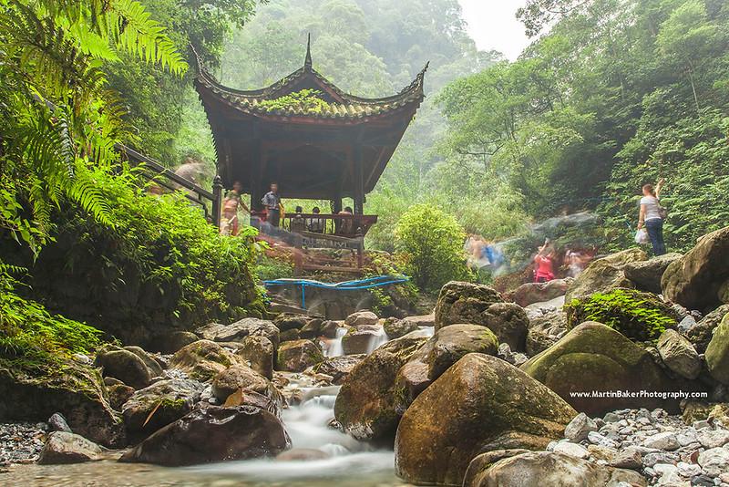Emei Shan, Sichuan province, China.