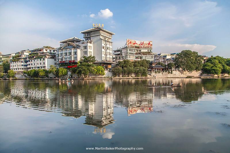 Taohua River, Guilin, Guangxi, China.