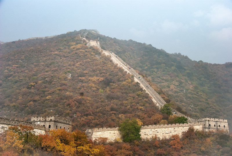 The best preserved  and longest Great Wall section open to public