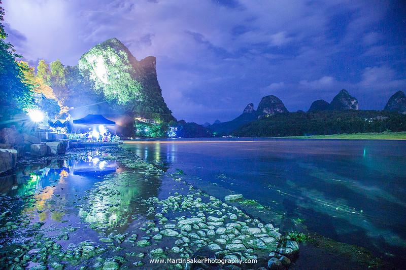 Yangshuo and Li River, Guangxi, China.