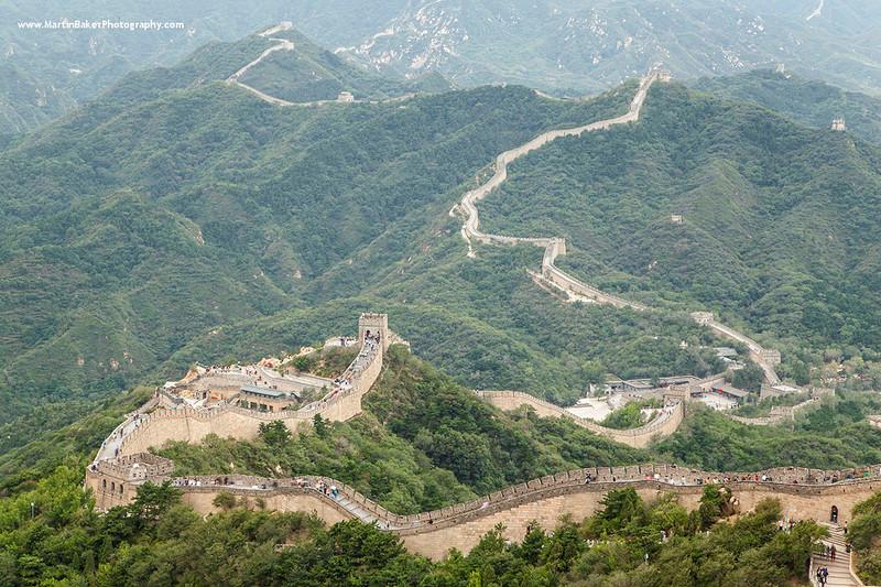 The Great Wall of China, Badaling, Beijing, China.