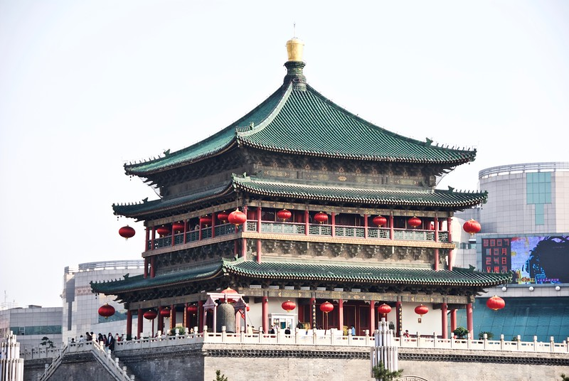 Bell Tower 钟楼, Xi'an