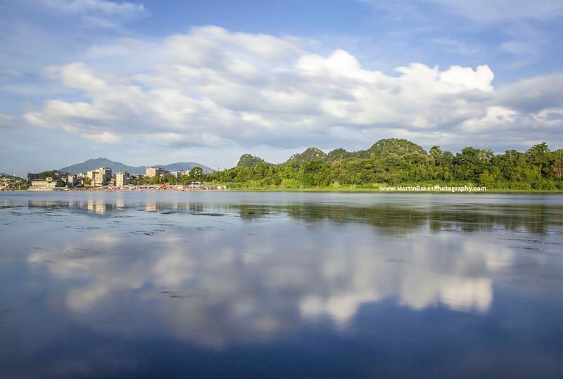 Guilin and Li River, Guangxi, China.