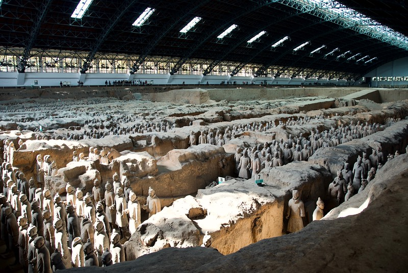 The Terracotta Army 兵马俑, Xi'an 西安