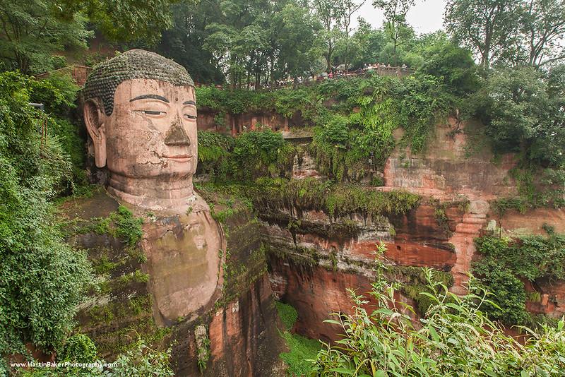 Dafo (Big Buddha), Leshan, Sichuan Province, China.