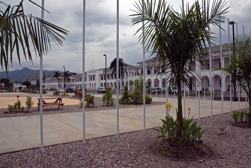 View of the Government Palace in Dili, East Timor