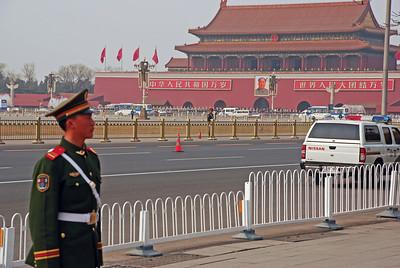 Standing Guard - Tiananmen Square