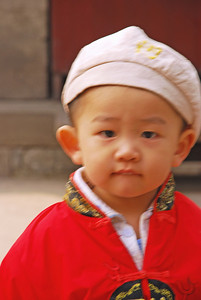 Boy in Forbidden City, Beijing