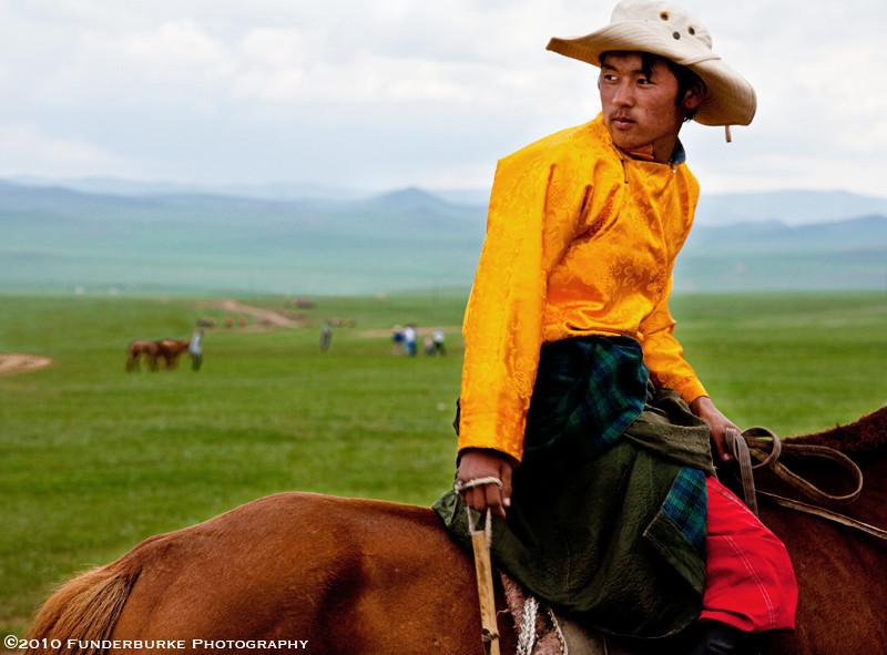 Mongolian Horseman - Naadam Festival