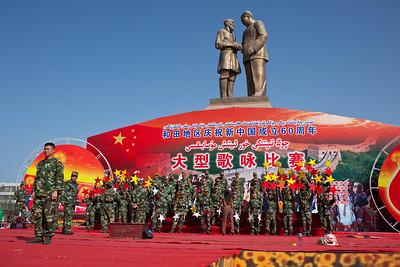 Hotan, Xinjiang, China - September 29, 2009:  (Photo by: Christopher Herwig)