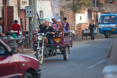Turpan, Xinjiang, China - September 18,2009:  (Photo by: Christopher Herwig)