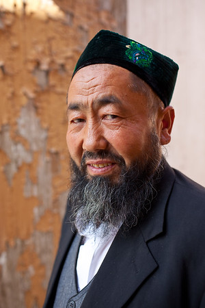 Kucha, China - September 23, 2009: Portrait of a local Imam. (Photo by: Christopher Herwig)
