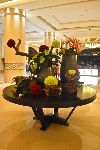 The Sheraton's lobby