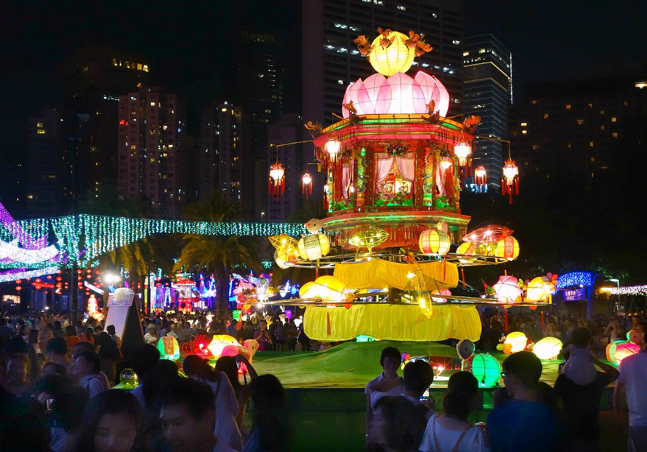Hong Kong lantern festival