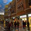 The Venetian shops