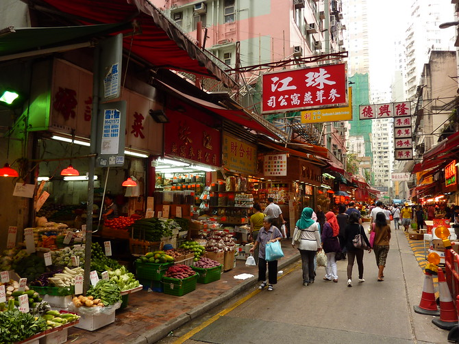 Bowrington Road market - Hong Kong