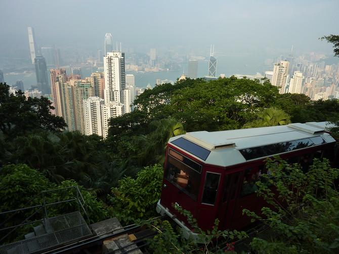 Peak Tram - Hong Kong