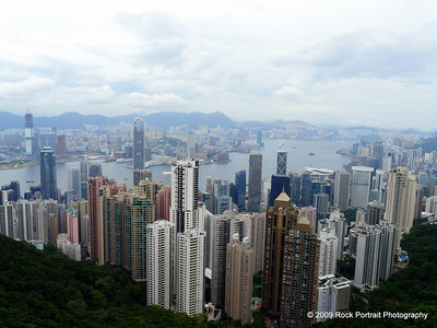 Hong Kong Harbour from The Peak