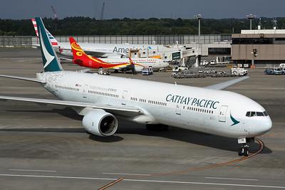 """B-HNK Boeing 777-367 c/n 27510 Tokyo-Narita/RJAA/NRT 18-10-17 """"Spirit of Hong Kong"""""""