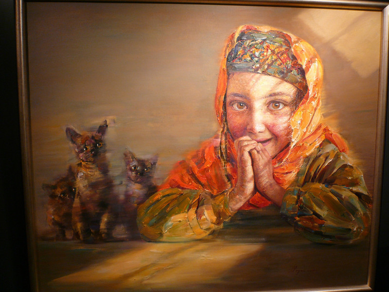 "These powerful paintings, that I first saw in Hong Kong in  2007, are by Chinese artisit Yan Yaya. born in Xi'an, Guangxi province in 1964. <br /> These subjects are from the Pamir Mountains in Central Asia, formed by the junction of the Himalayas, Tian Shan, Karakoram, Kunlun, and Hindu Kush ranges.<br /> <br /> See more at: <a href=""http://www.baoqutang.com/php/BtArtistDetail.php?lang=E&artist_id=19"">http://www.baoqutang.com/php/BtArtistDetail.php?lang=E&artist_id=19</a><br /> <br /> Copyright Yan Yaya."