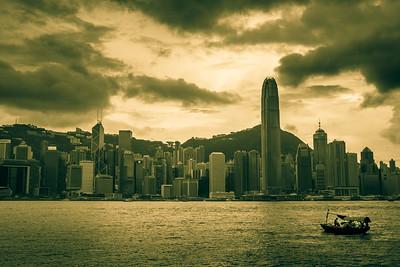 Romance of HK Bay.