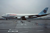 """VR-HMF Boeing 747-2L5BF """"Air Hong Kong"""" c/n 22107 Brussels/EBBR/BRU 06-12-96 (35mm slide)"""