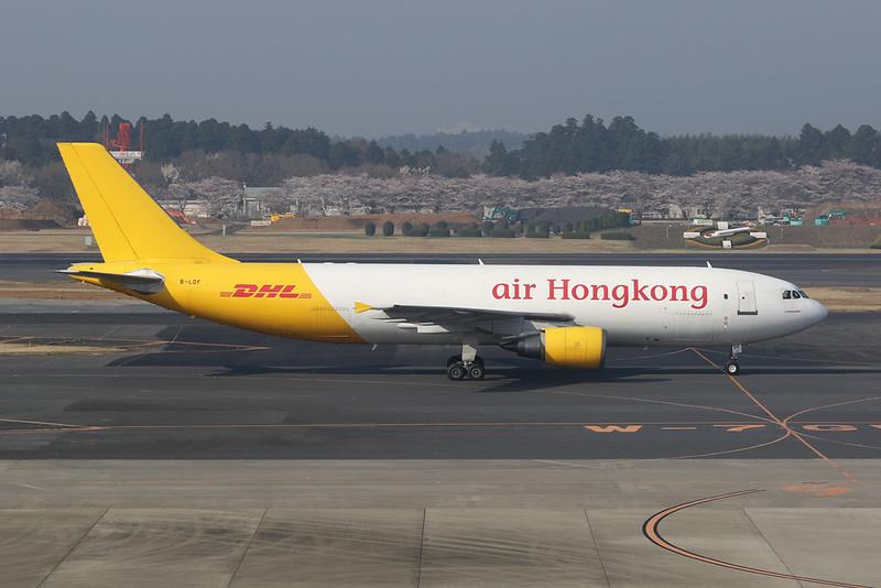 "B-LDF Airbus A300F4-605GF ""Air Hong Kong"" c/n 860 Tokyo-Narita/RJAA/NRT 27-03-18"