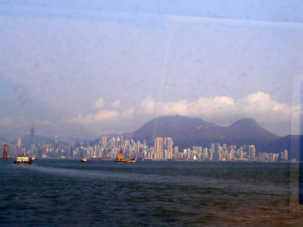 Hong Kong Island - Aug 2002