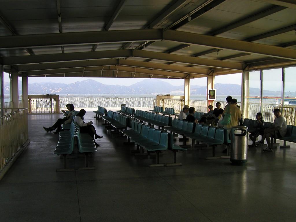 Shekou ferry terminal Shenzhen China - Aug 2002