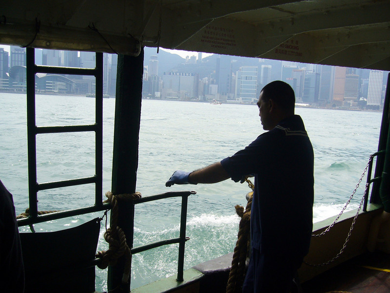 Star Ferry, a ride I always take, never to be missed