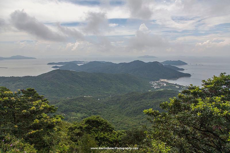 Chi Ma Wan Peninsula, Lantau Island, Hong Kong, China.