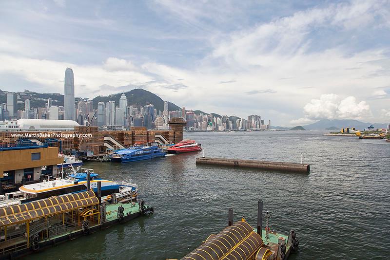 Sheung Wan (view from Tsim Sha Tsui), Hong Kong, China.