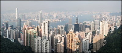 Panorama from Victoria Peak
