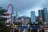 Hong Kong Observation Wheel, Central, Hong Kong Island, Hong Kong, China.