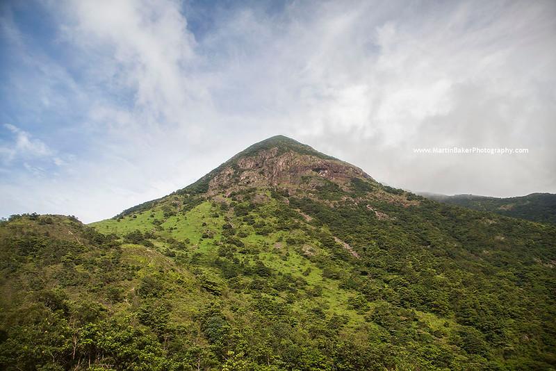 Lantau North Country Park and Lantau Peak, Lantau Island, Hong Kong, China.