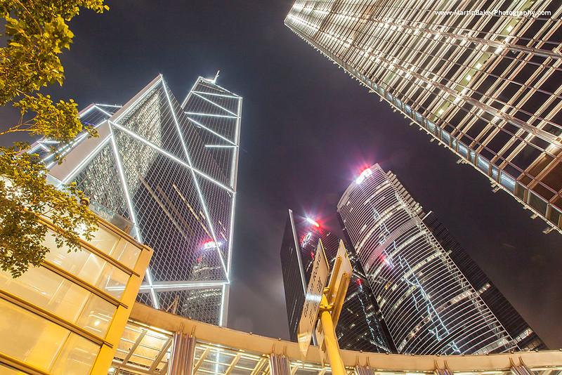 Bank Of China Tower, Admiralty, Hong Kong Island, Hong Kong, China.