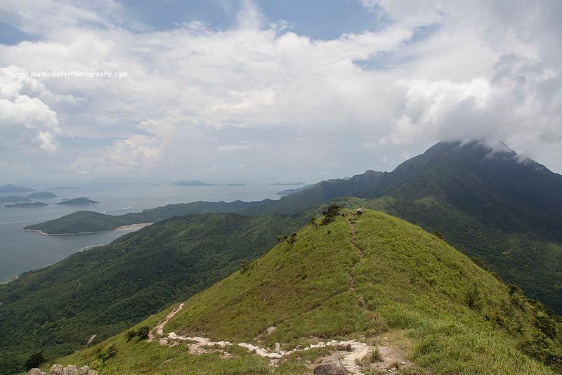 Lantau Peak, Lantau Island, Hong Kong, China.