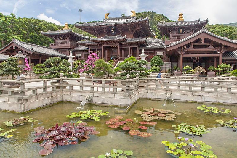 Chi Lin Nunnery, Kowloon, New Territories, Hong Kong, China.