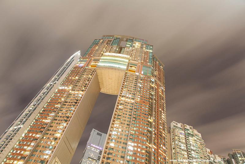 The Arch Sky Tower, Tsim Sha Tsui, Hong Kong, China.